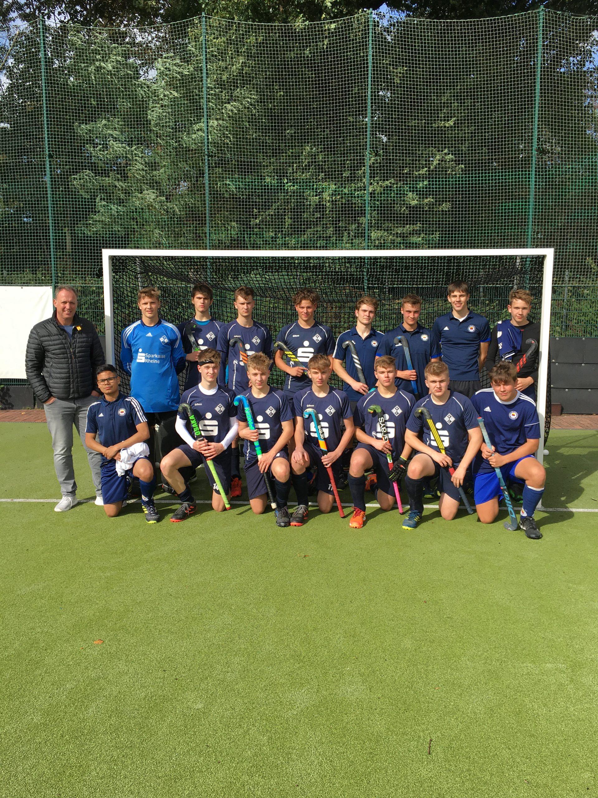 Spielgemeinschaft RHTC Rheine & THC Münster wird Westdeutscher Vizemeister Hockey 2020!