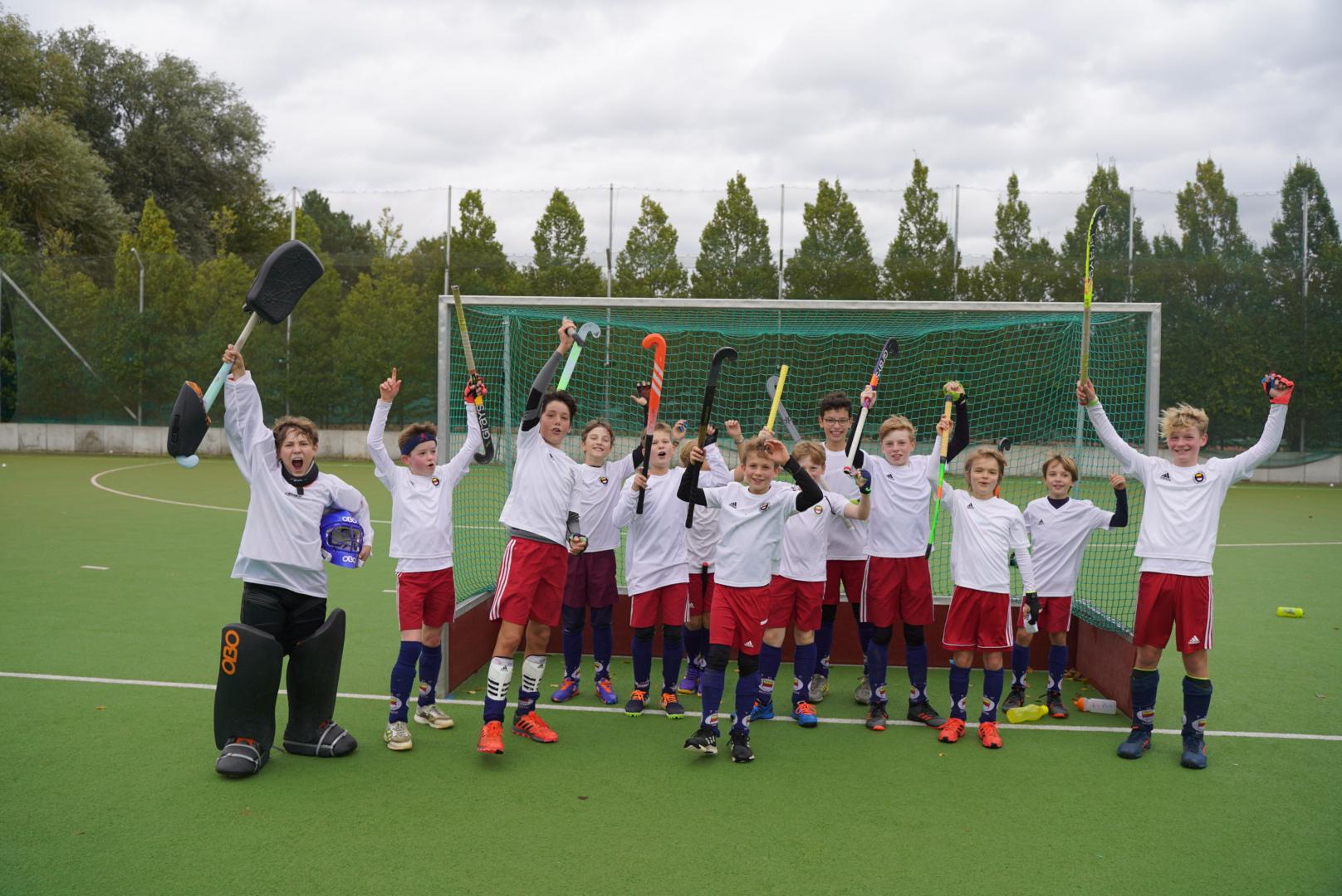 THC U12 Jungen Westdeutscher Verbandsliga Meister im Feldhockey